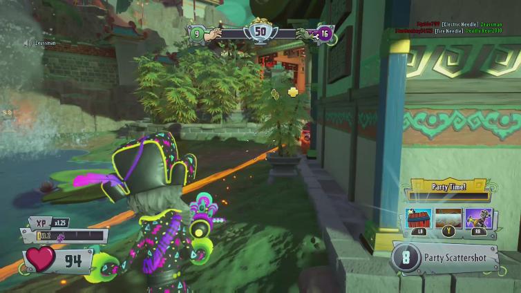 DirtyI30 playing Plants vs. Zombies Garden Warfare 2
