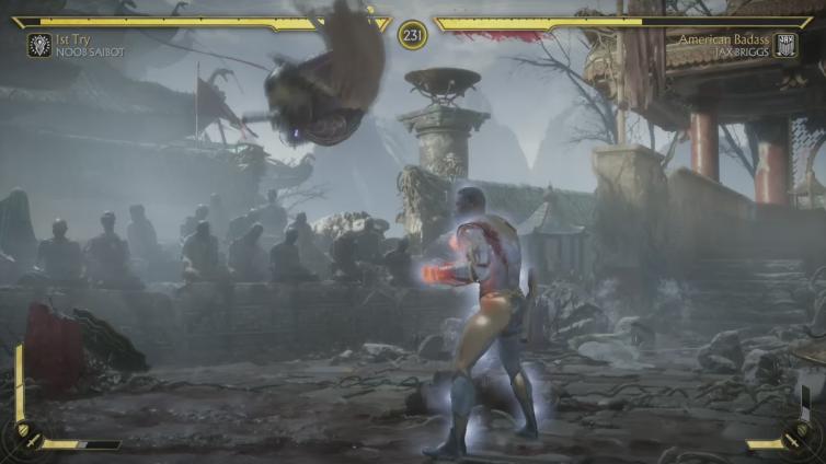 xRatxBreathx playing Mortal Kombat 11