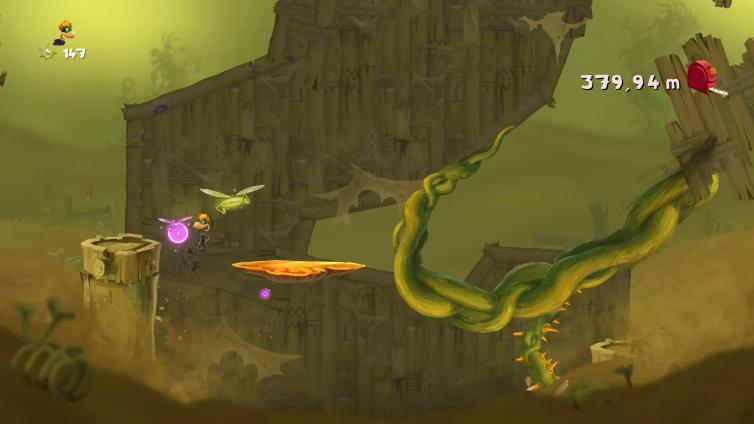 New Legend PL playing Rayman Legends