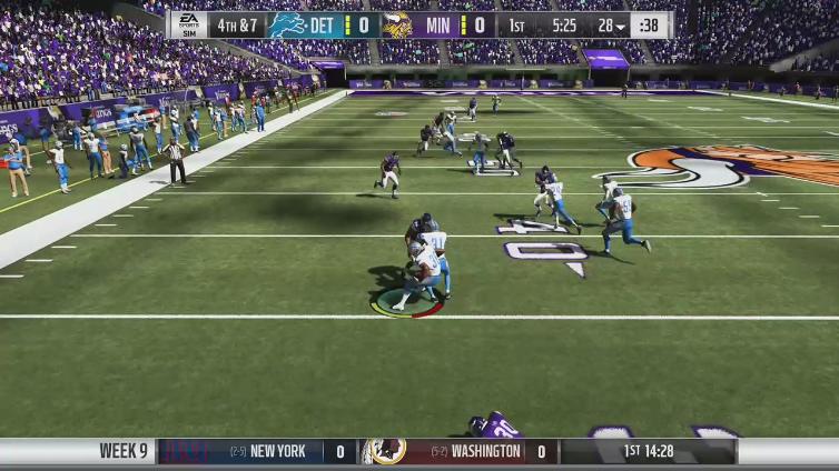 SaucyCrab81 playing Madden NFL 19