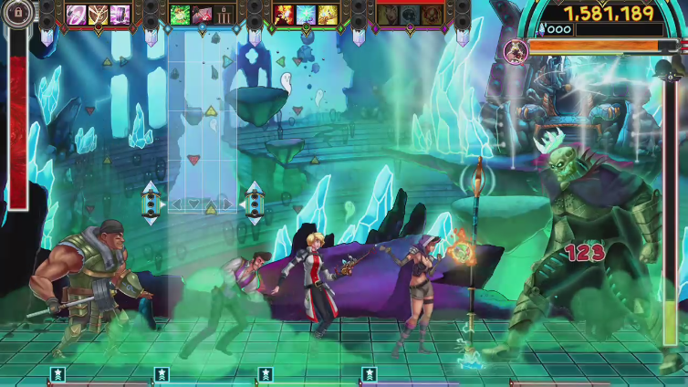 UnsoundWarrior playing The Metronomicon: Slay the Dance Floor